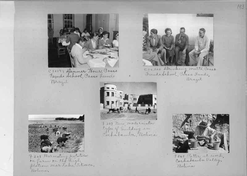 Misson Photograph Album - South America #8 page 0193