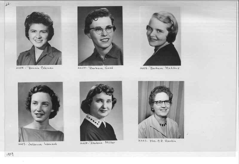 Mission Photograph Album - Portraits #12 Page 0022