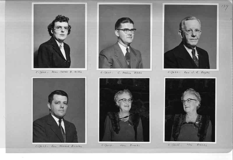 Mission Photograph Album - Portraits #07 Page 0139