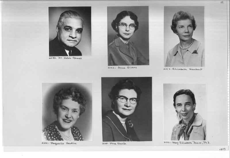 Mission Photograph Album - Portraits #12 Page 0017