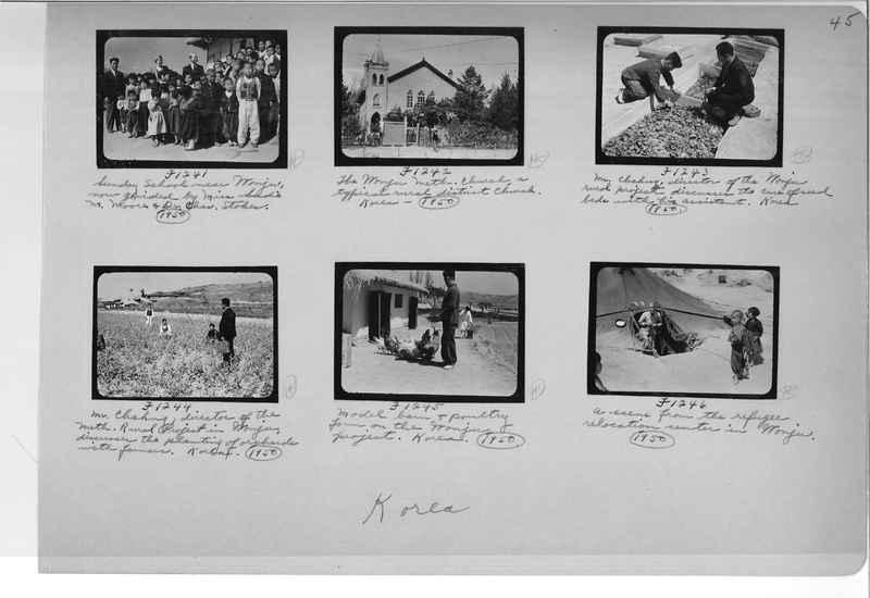 Mission Photograph Album - Korea #6 page 0045