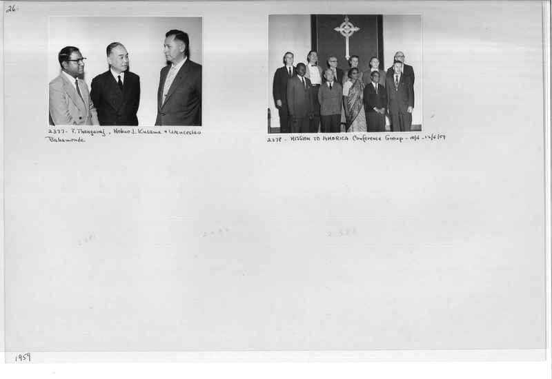 Mission Photograph Album - Portraits #12 Page 0026