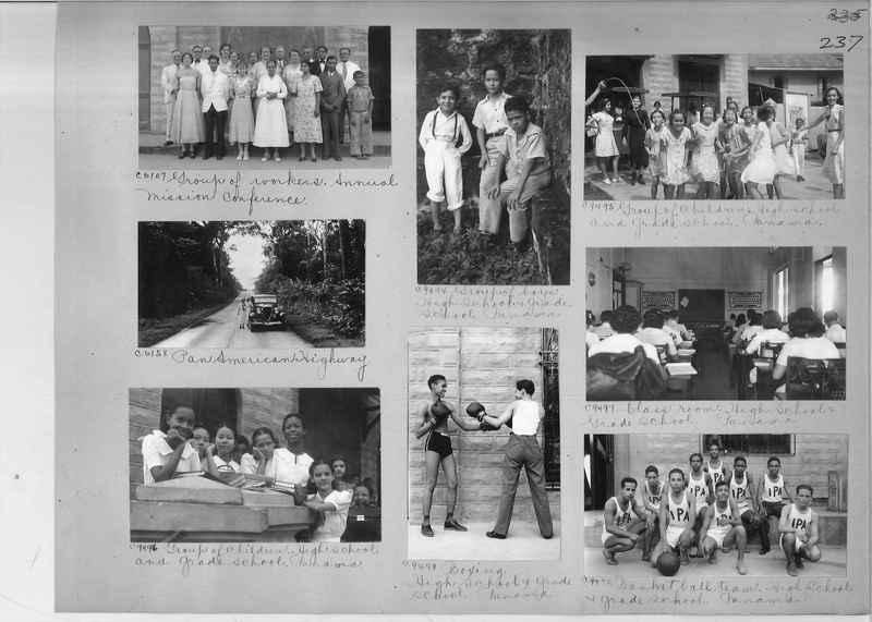Mission Photograph Album - Panama #04 page 0237