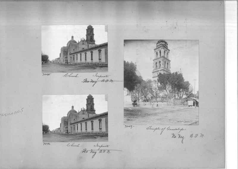 Mission Photograph Album - Mexico #05 page 0007