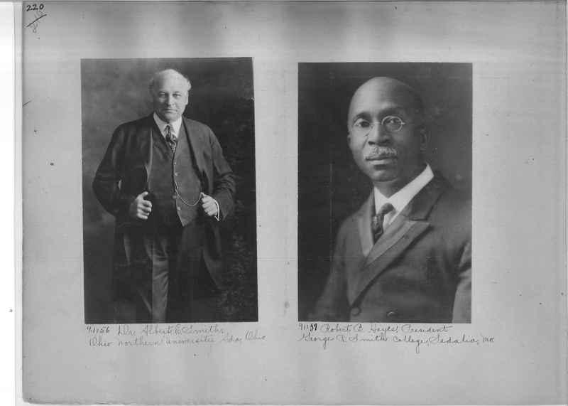 Mission Photograph Album - Portraits #3 page 0220