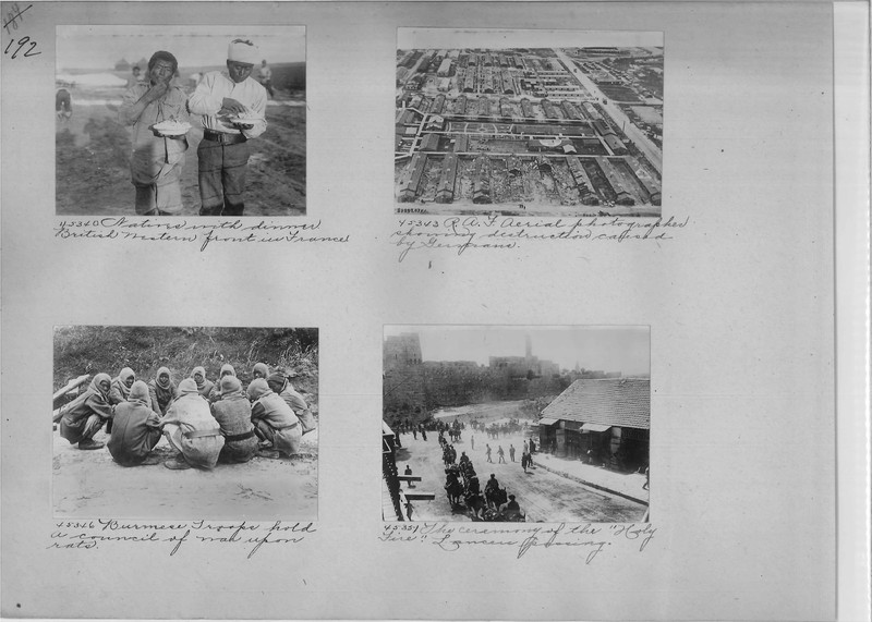 Mission Photograph Album - Europe #02 Page 0192