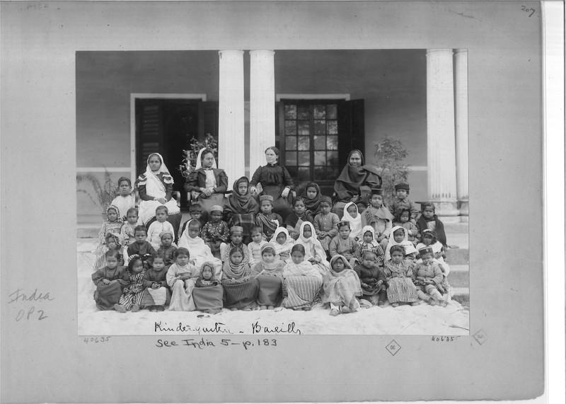 Mission Photograph Album - India - O.P. #02 Page 0207