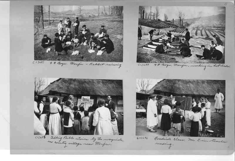 Mission Photograph Album - Korea #6 page 0011