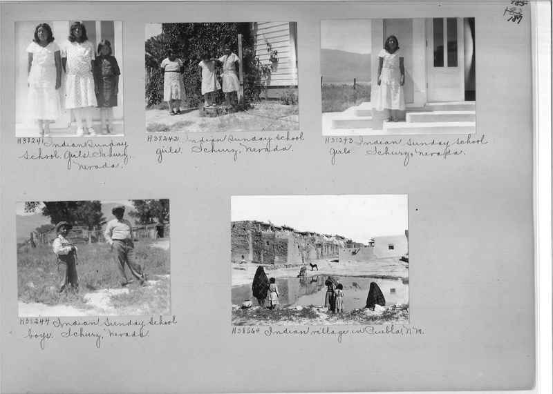 Mission Photograph Album - Indians #2 page_0187