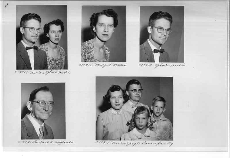 Mission Photograph Album - Portraits #09 Page 0022