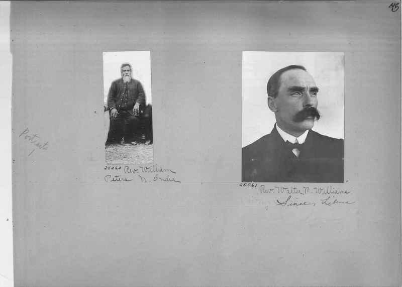 Mission Photograph Album - Portraits #1 page 0045