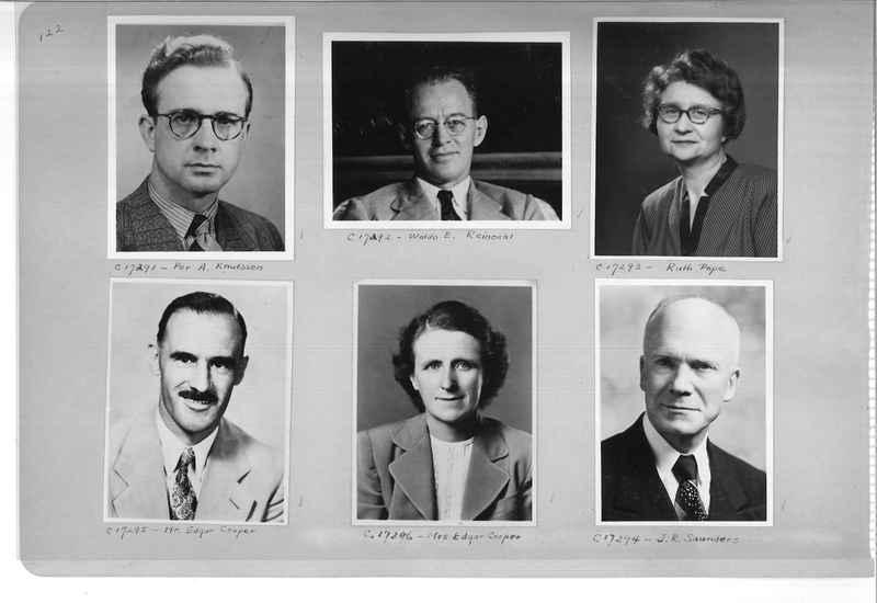Mission Photograph Album - Portraits #07 Page 0122