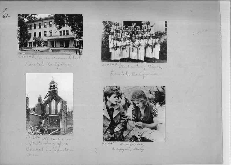 Mission Photograph Album - Europe #09 Page 0062