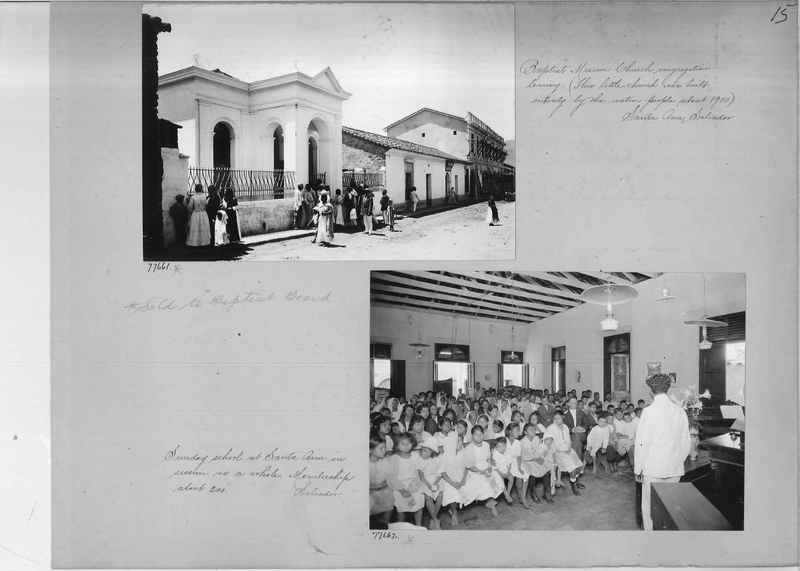 Mission Photograph Album - Panama #04 page 0015