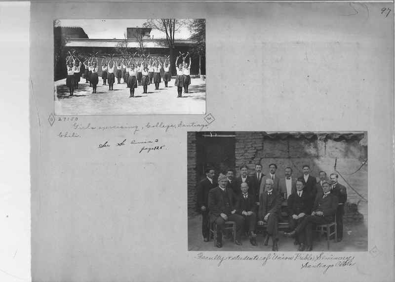Mission Photograph Album - South America O.P. #1 page 0097