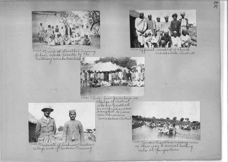 Mission Photograph Album - India #10 Page 0037