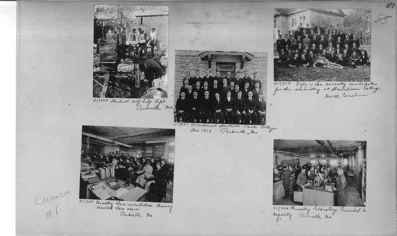 Mission Photograph Album - Education #1 page 0057