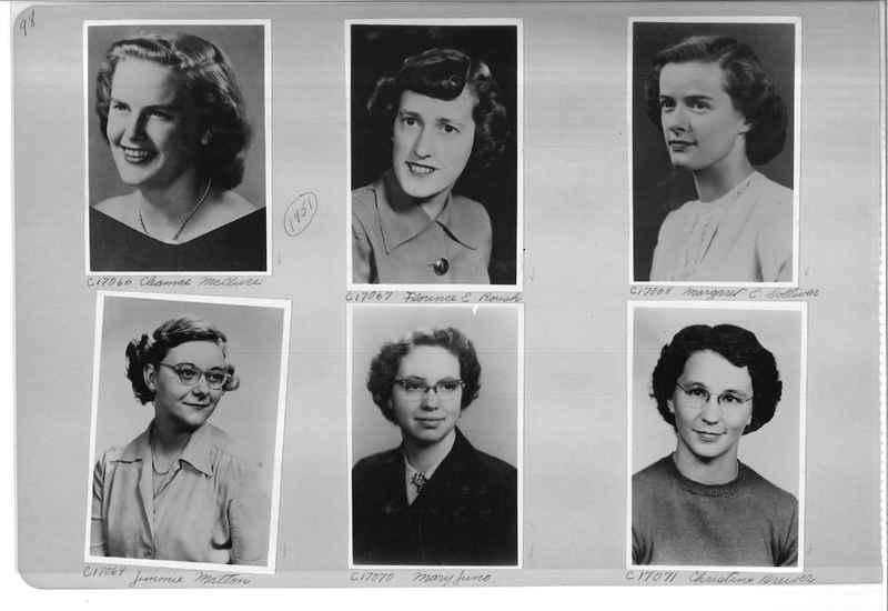 Mission Photograph Album - Portraits #07 Page 0098