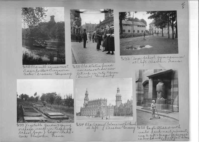 Mission Photograph Album - Europe #09 Page 0005