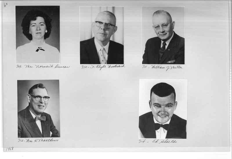 Mission Photograph Album - Portraits #11 Page 0060