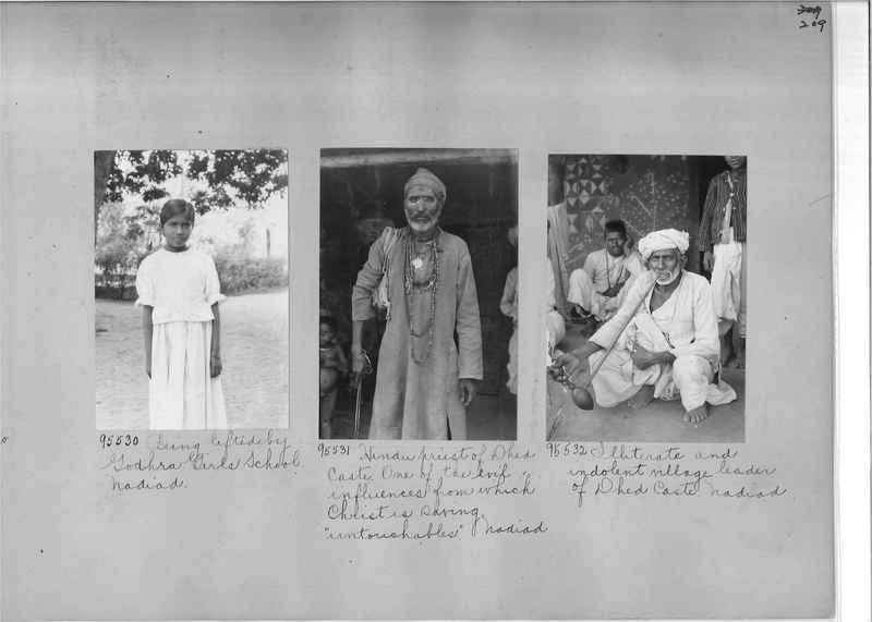 Mission Photograph Album - India #10 Page 0209