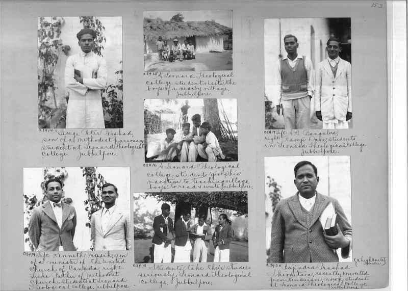 Mission Photograph Album - India #13 Page 0153