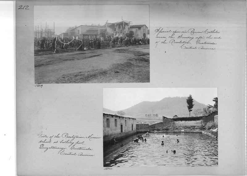 Mission Photograph Album - Panama #02 page 0212