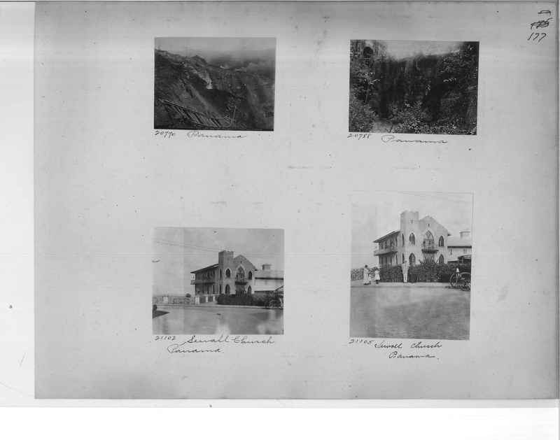 Mission Photograph Album - Panama #1 page  0177
