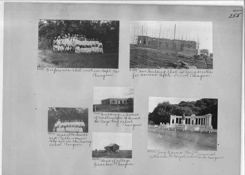 Mission Photograph Album - Burma #1 page 0255