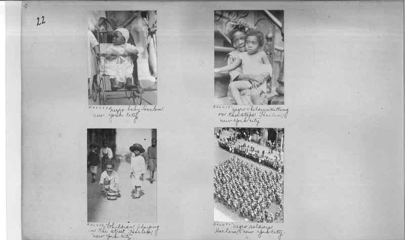 Mission Photograph Album - Negro #4 page 0022