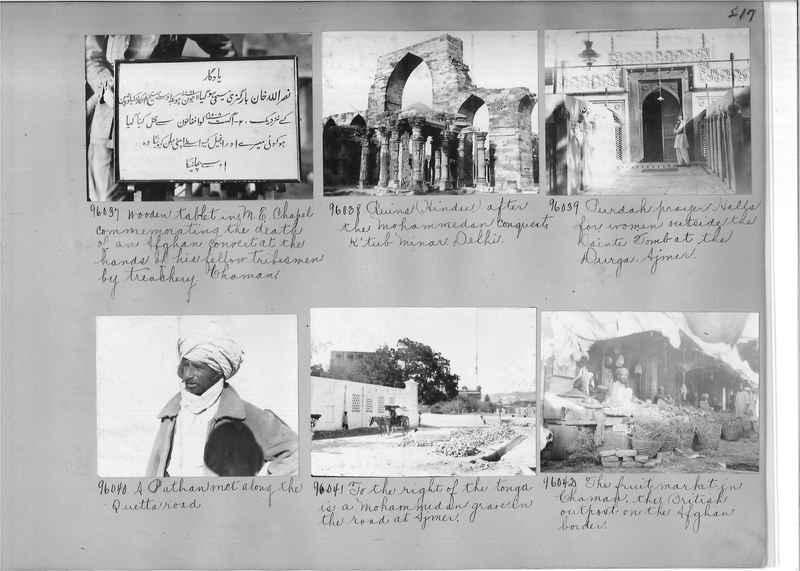 Mission Photograph Album - India #10 Page 0217