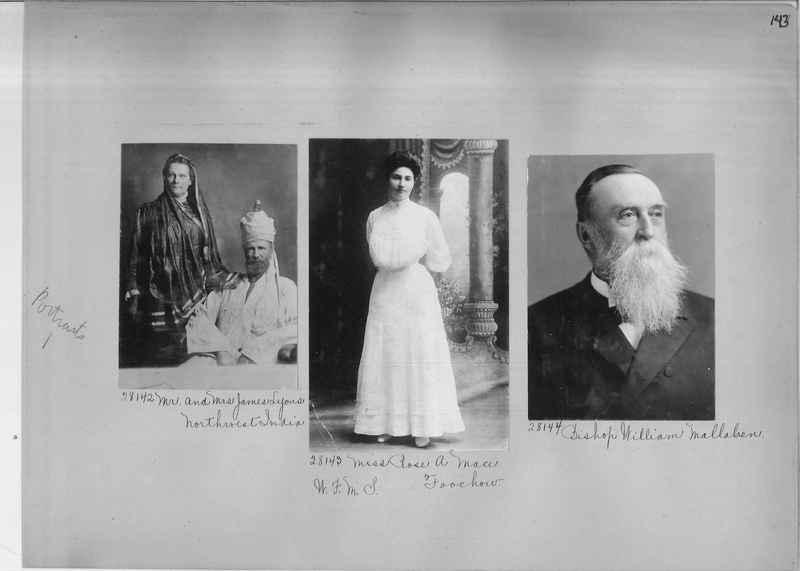 Mission Photograph Album - Portraits #1 page 0143