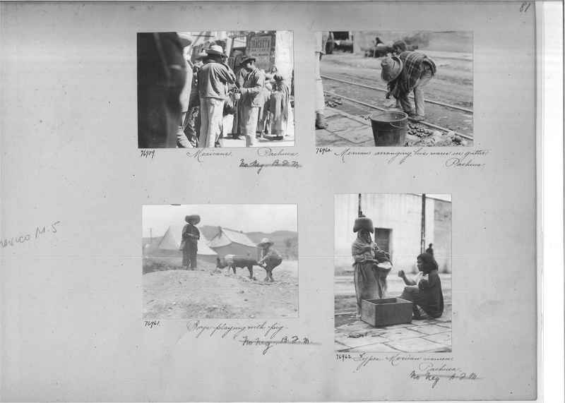 Mission Photograph Album - Mexico #05 page 0081