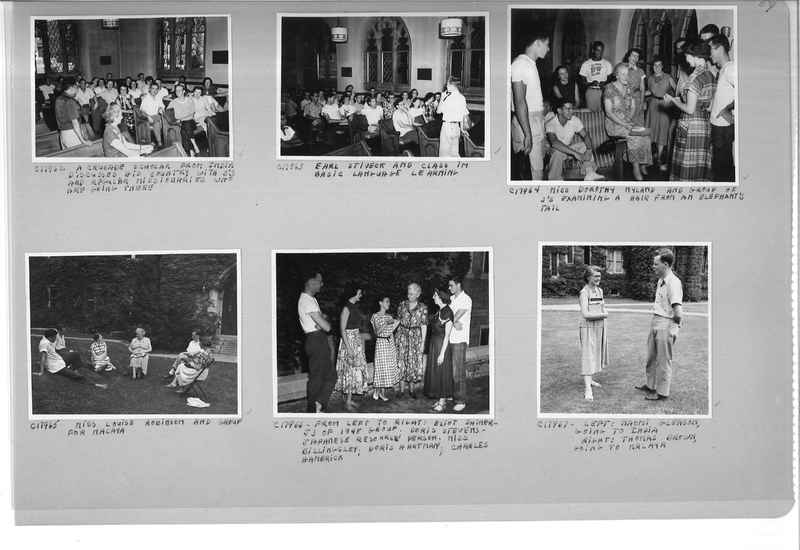 Mission Photograph Album - Portraits #13 Page 0059