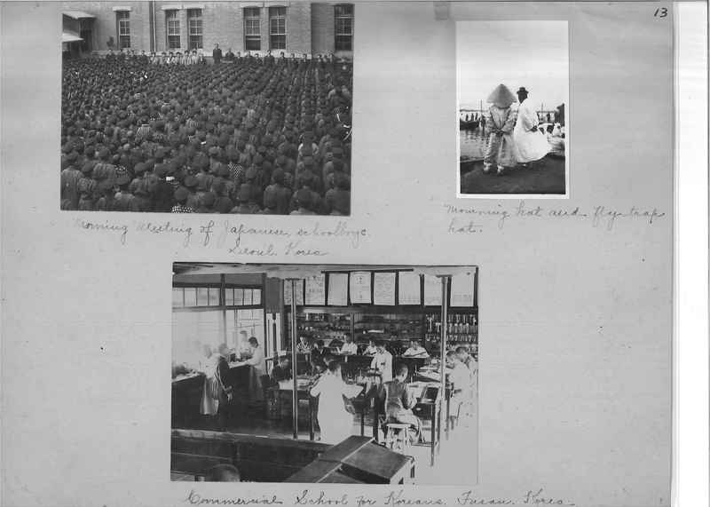 Mission Photograph Album - Japan and Korea #01 Page 0013