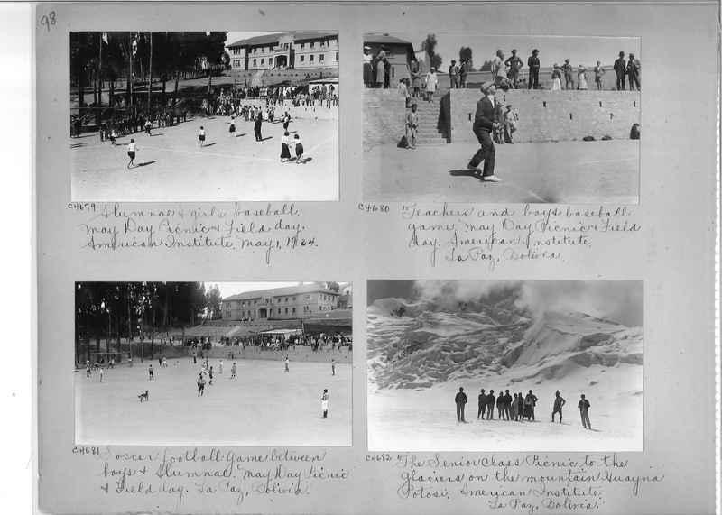 Misson Photograph Album - South America #8 page 0098