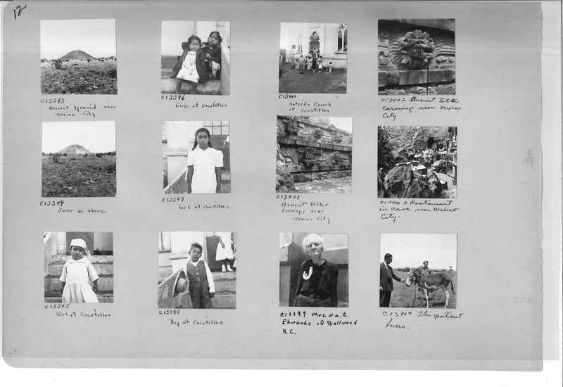 Mission Photograph Album - Mexico #09 Page 0012