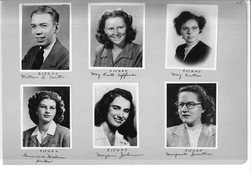 Mission Photograph Album - Portraits #07 Page 0049
