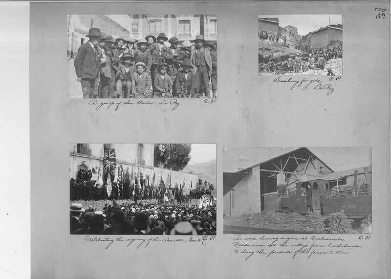 Mission Photograph Album - South America O.P. #1 page 0157