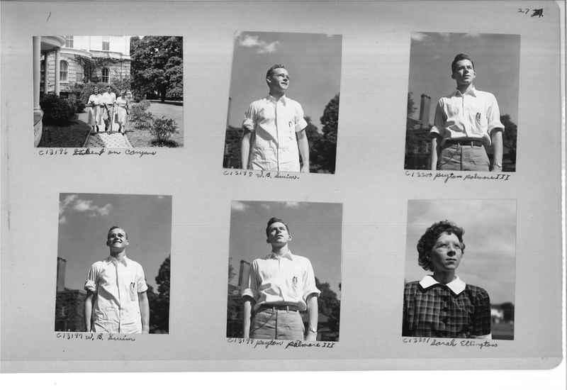 Mission Photograph Album - Portraits #13 Page 0027