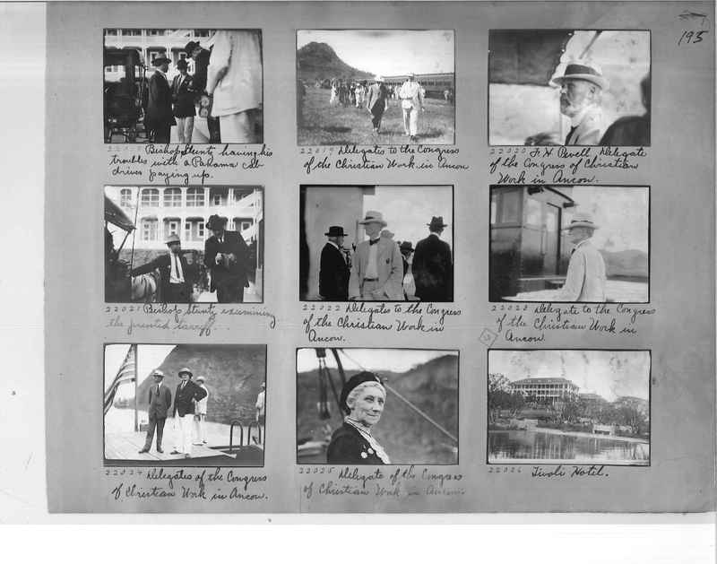 Mission Photograph Album - Panama #1 page  0195