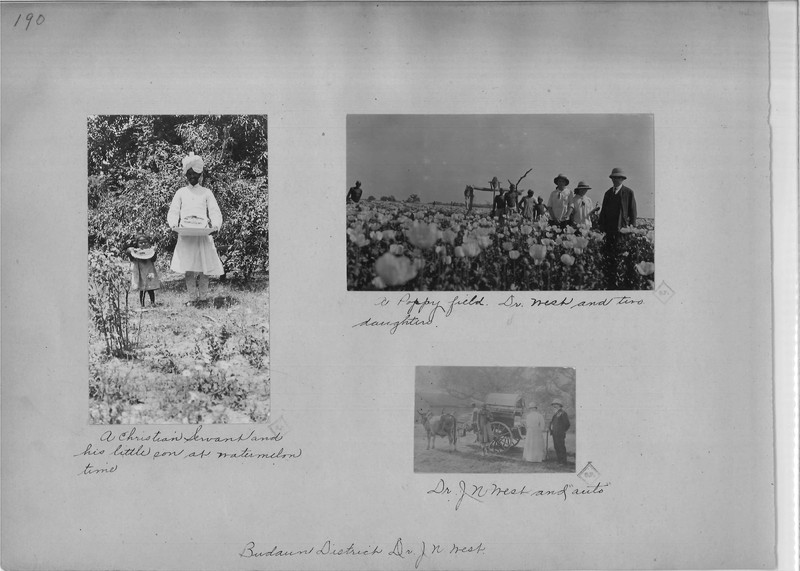 Mission Photograph Album - India - O.P. #02 Page 0190
