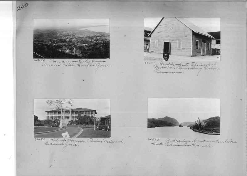 Mission Photograph Album - Panama #02 page 0240