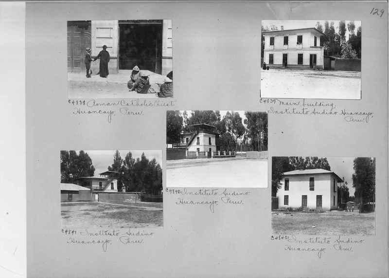 Misson Photograph Album - South America #8 page 0129