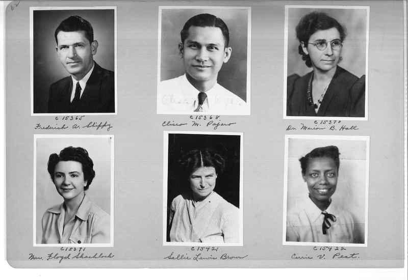 Mission Photograph Album - Portraits #07 Page 0062