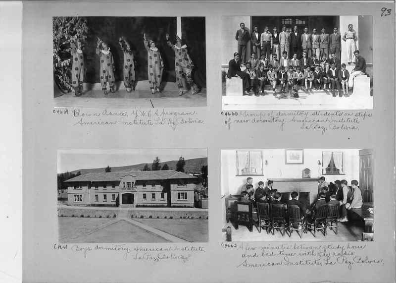 Misson Photograph Album - South America #8 page 0093