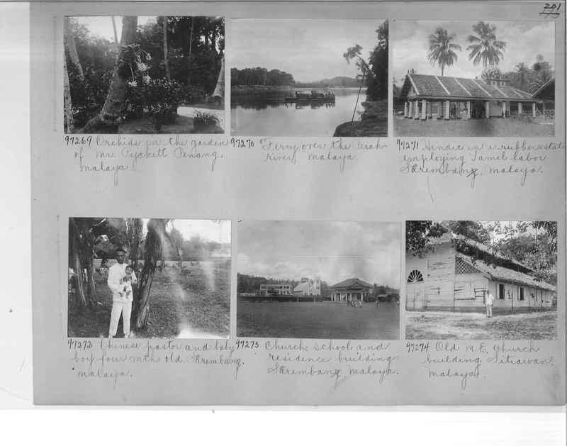 Mission Photograph Album - Malaysia #6 page 0201