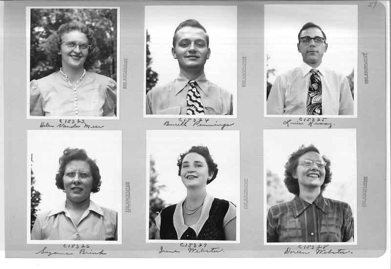 Mission Photograph Album - Portraits #07 Page 0059