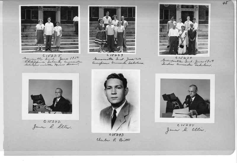 Mission Photograph Album - Portraits #07 Page 0045