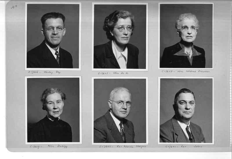 Mission Photograph Album - Portraits #07 Page 0140